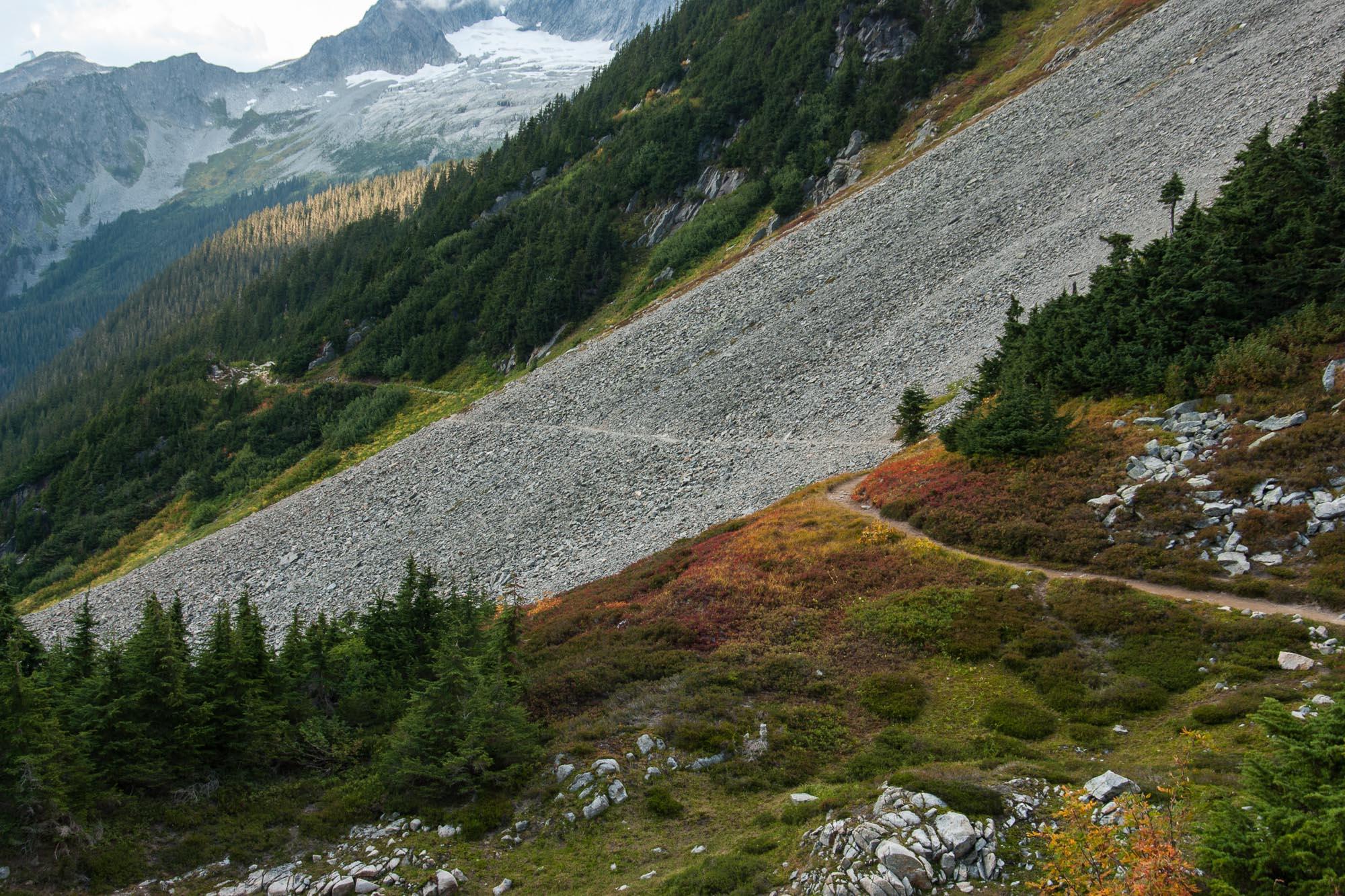 Cascade Pass (upper trail)