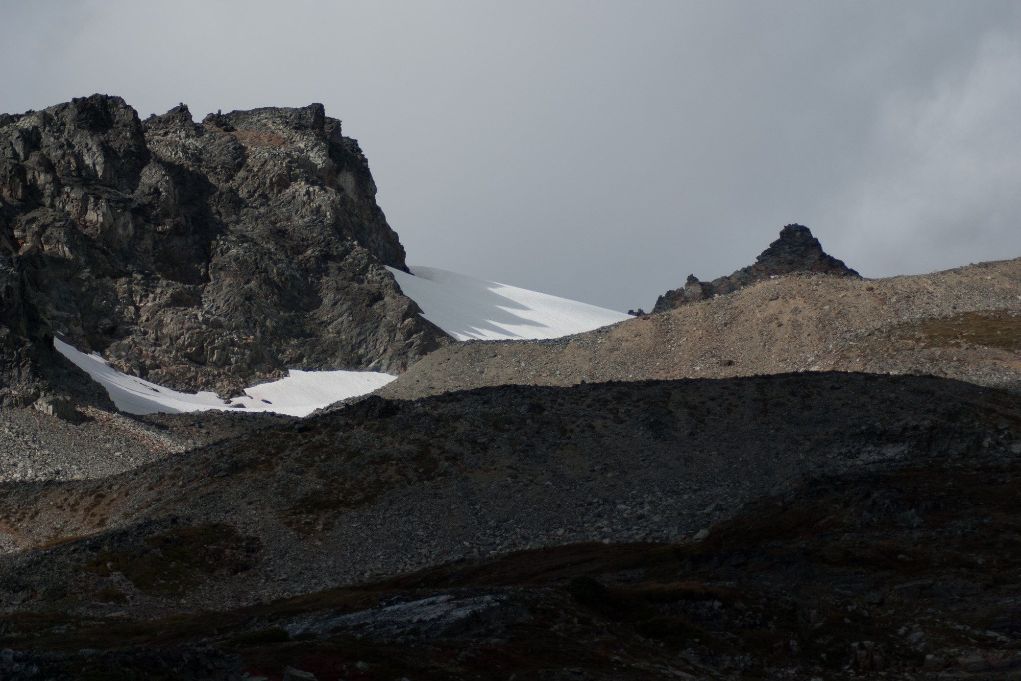 snowfield, Sahale Peak