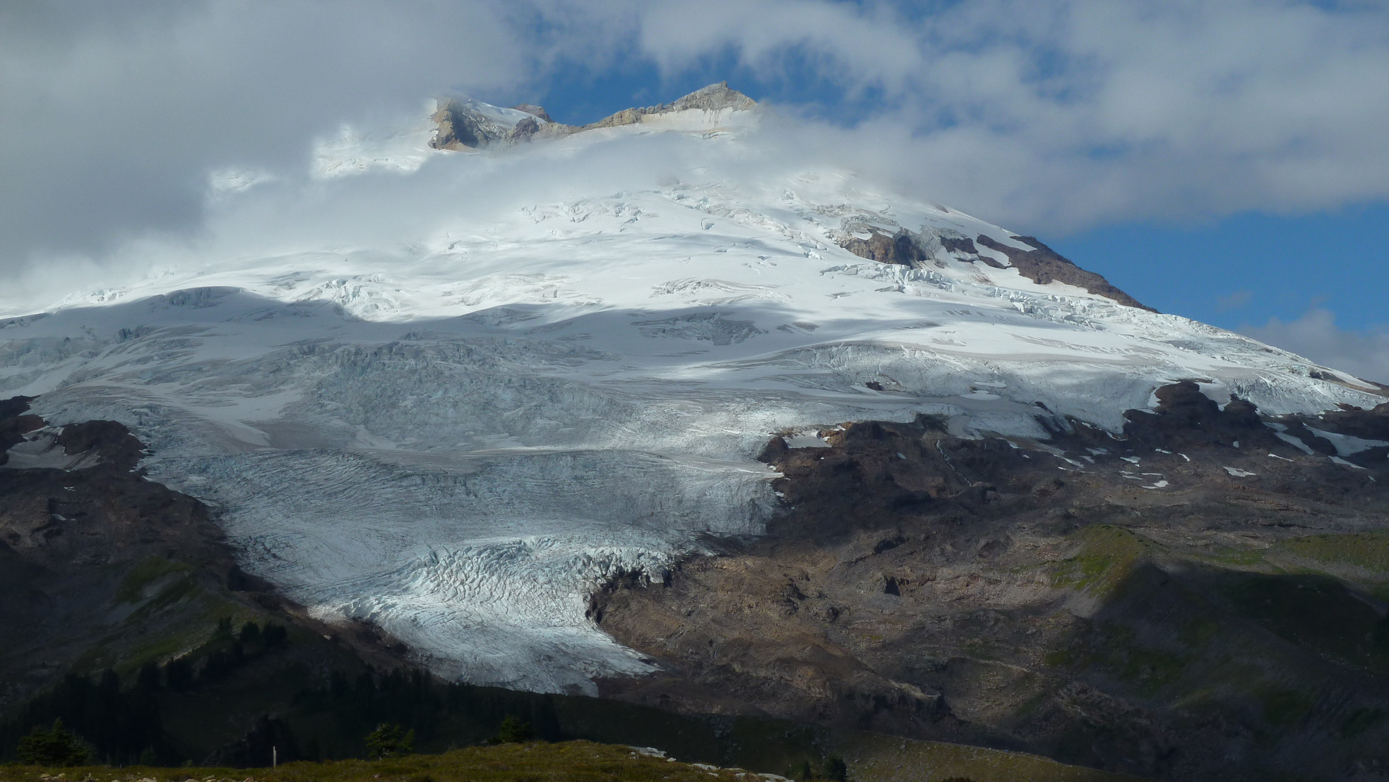 Baker and Easton Glacier