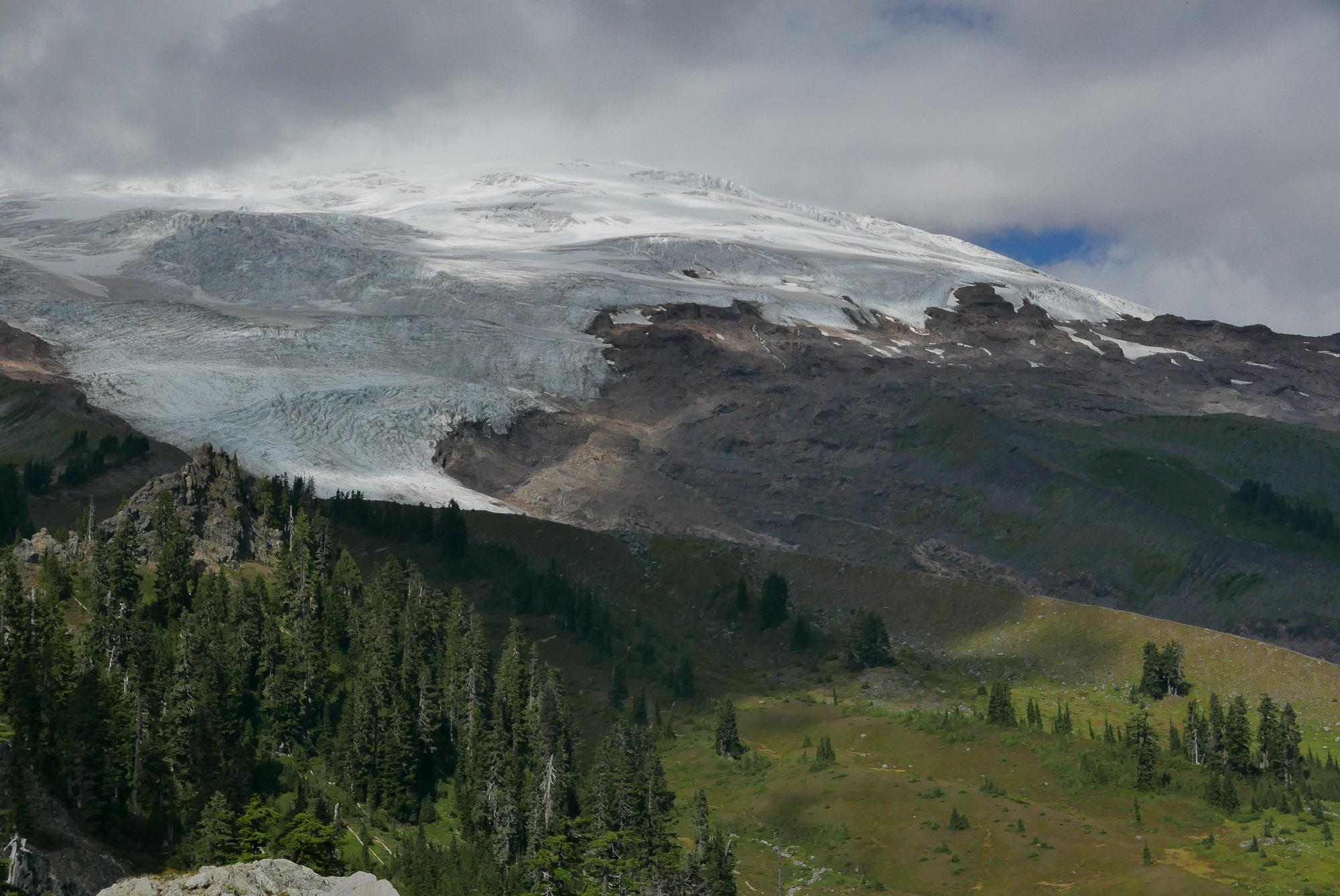 base, Easton Glacier