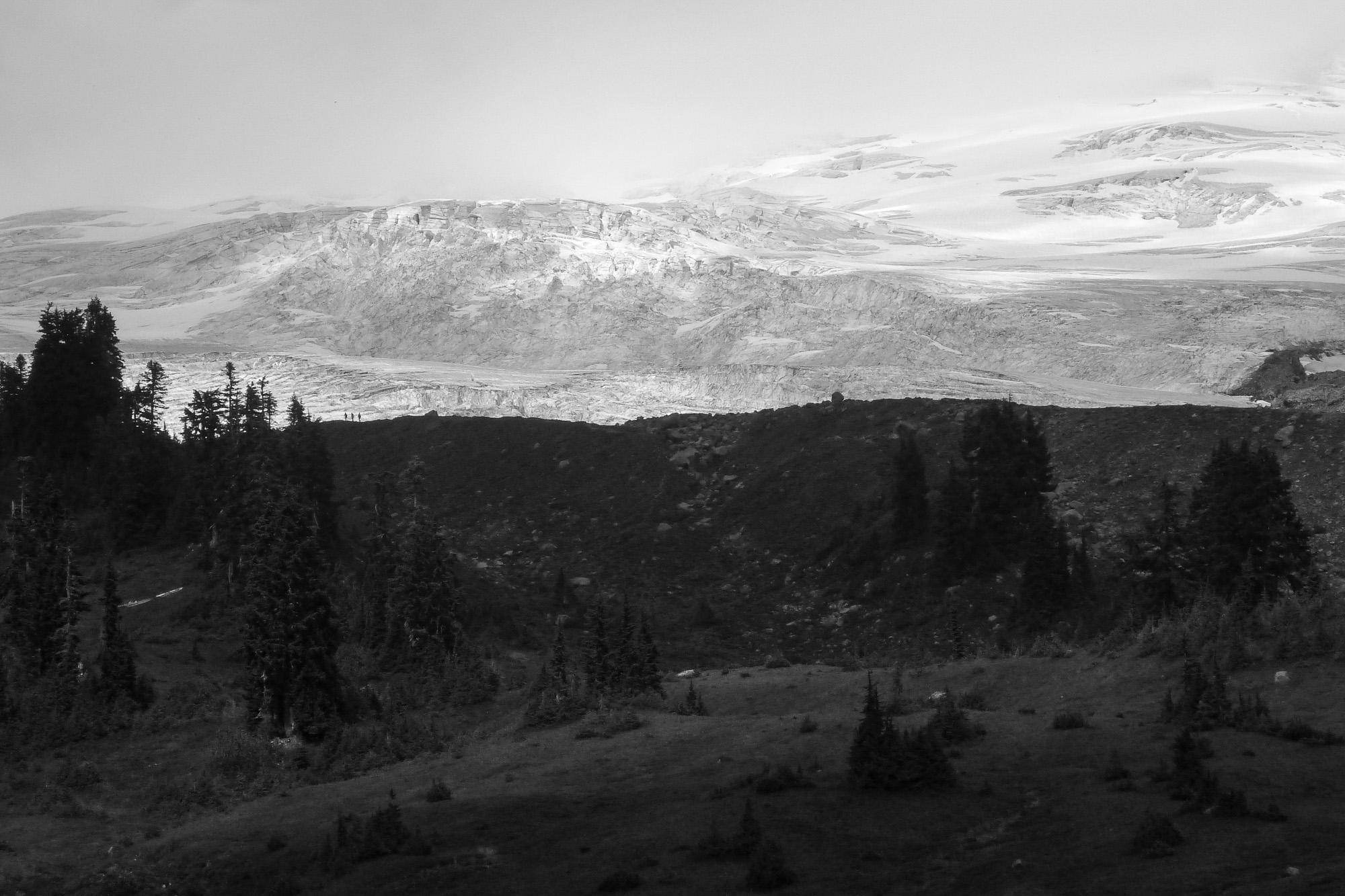 foot, Easton Glacier