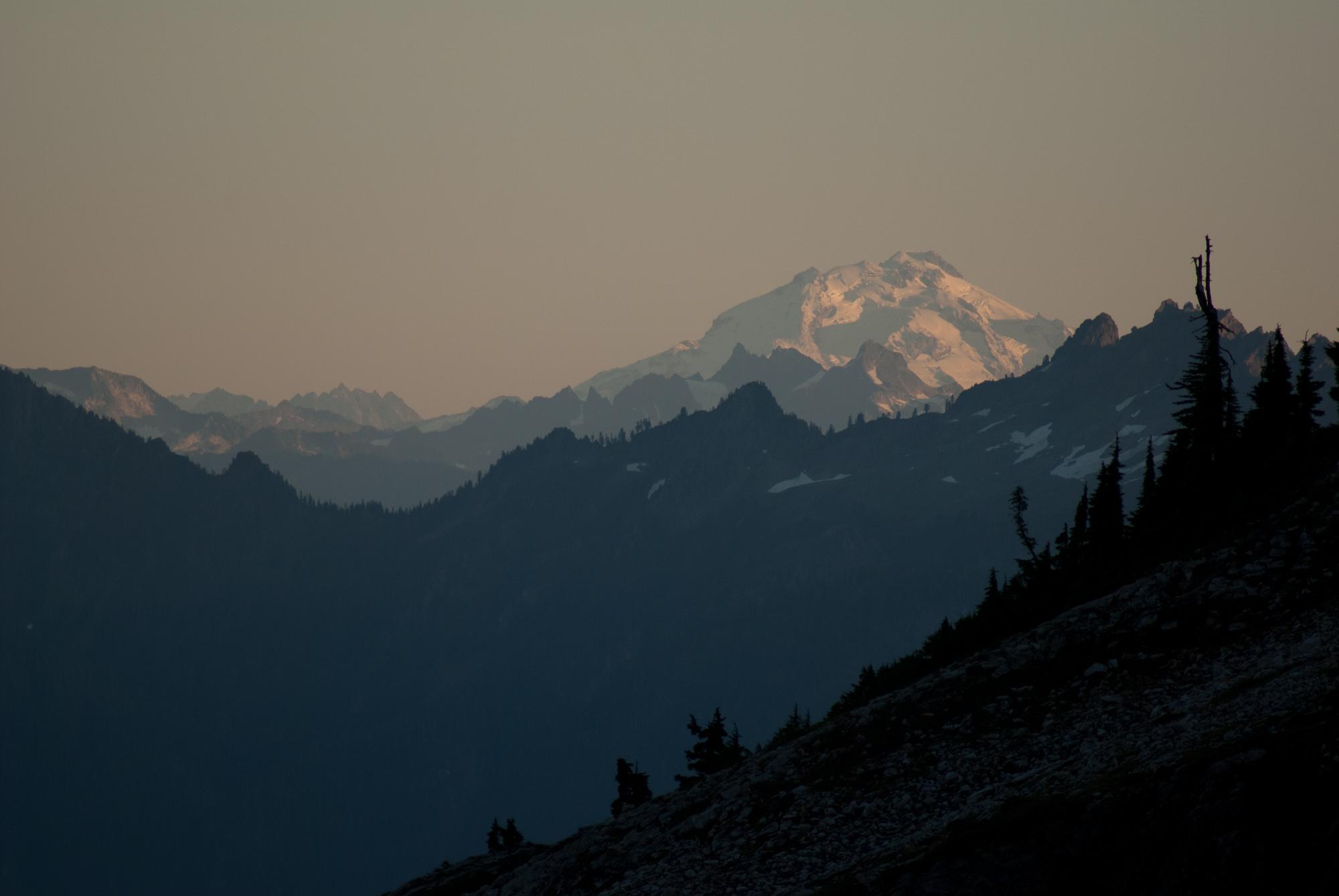 Glacier Peak sunset