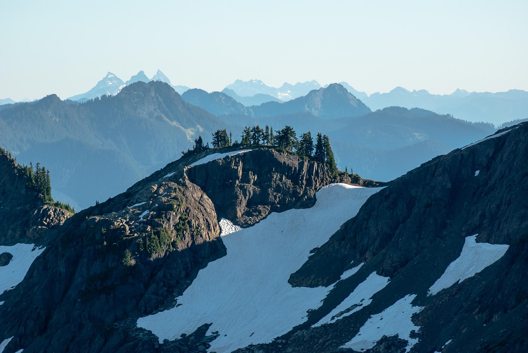 peaks south