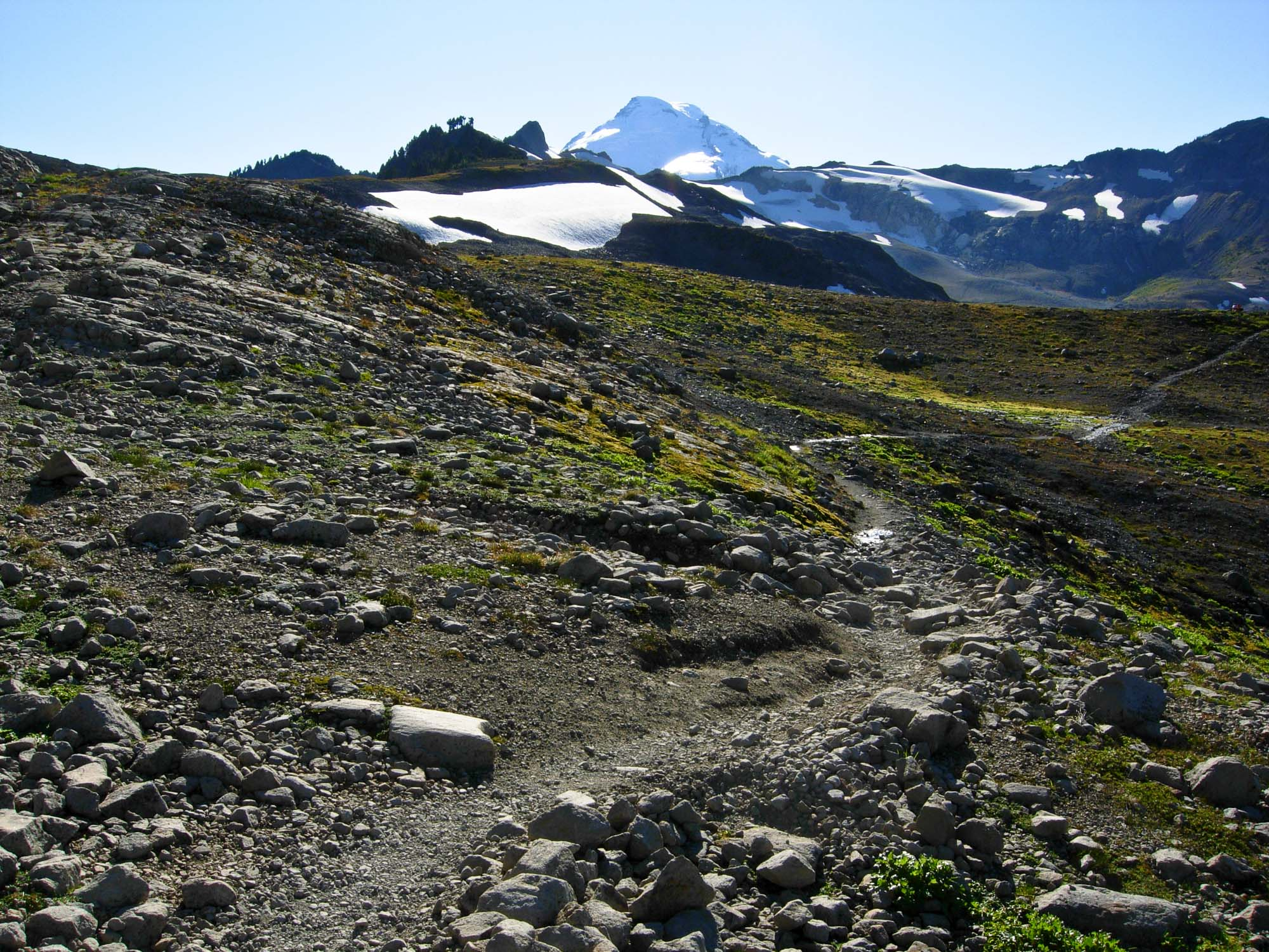 trail to Baker