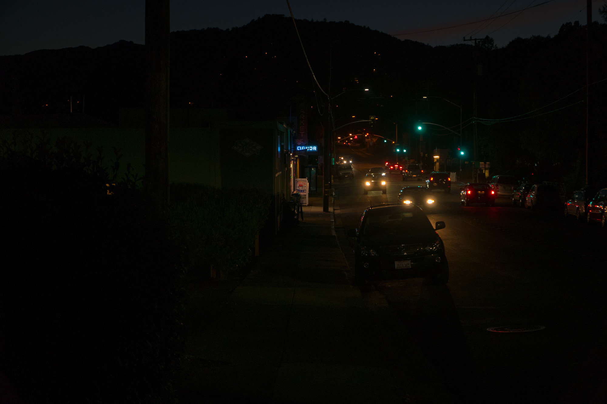 Tamalpais night