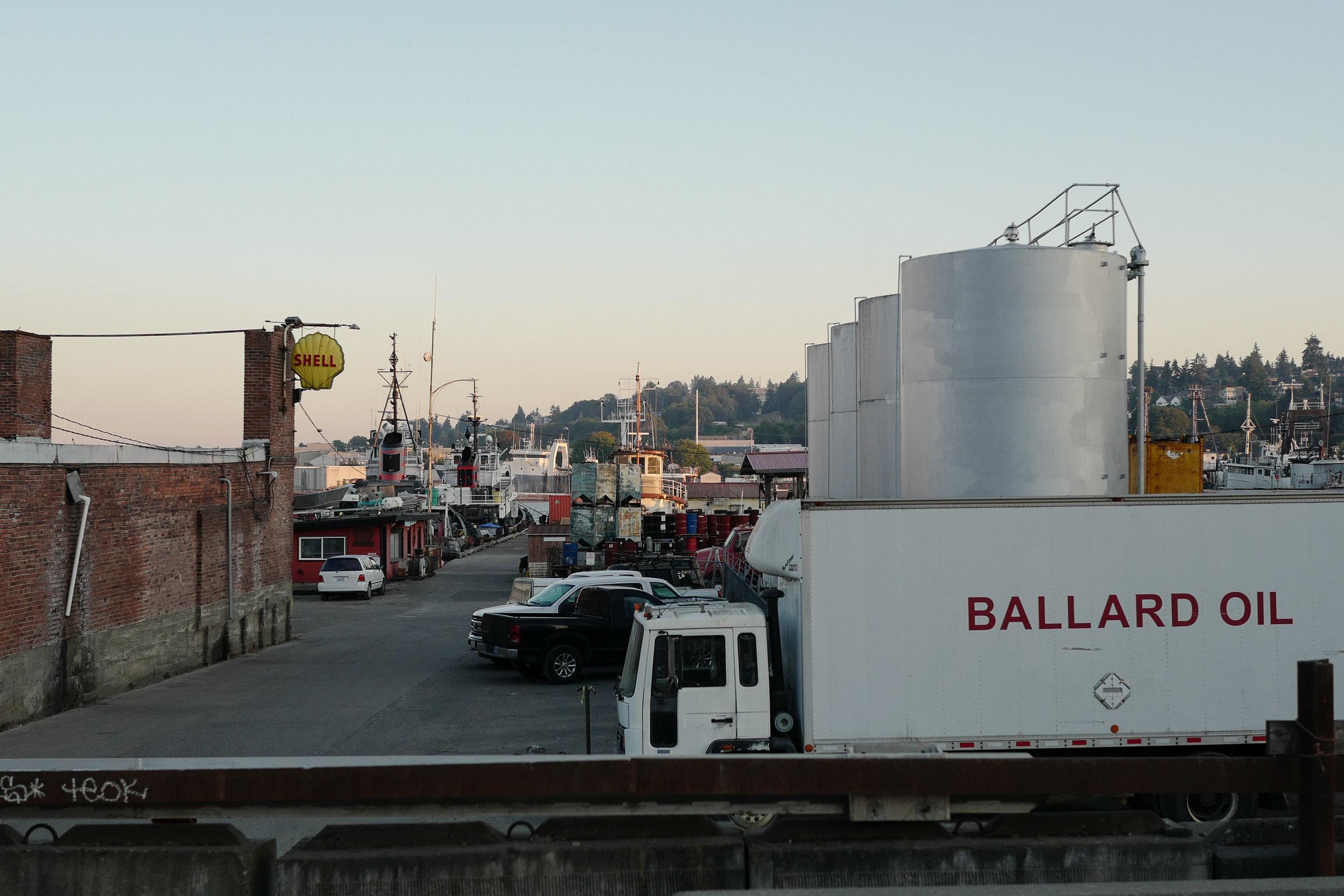Ballard Oil truck