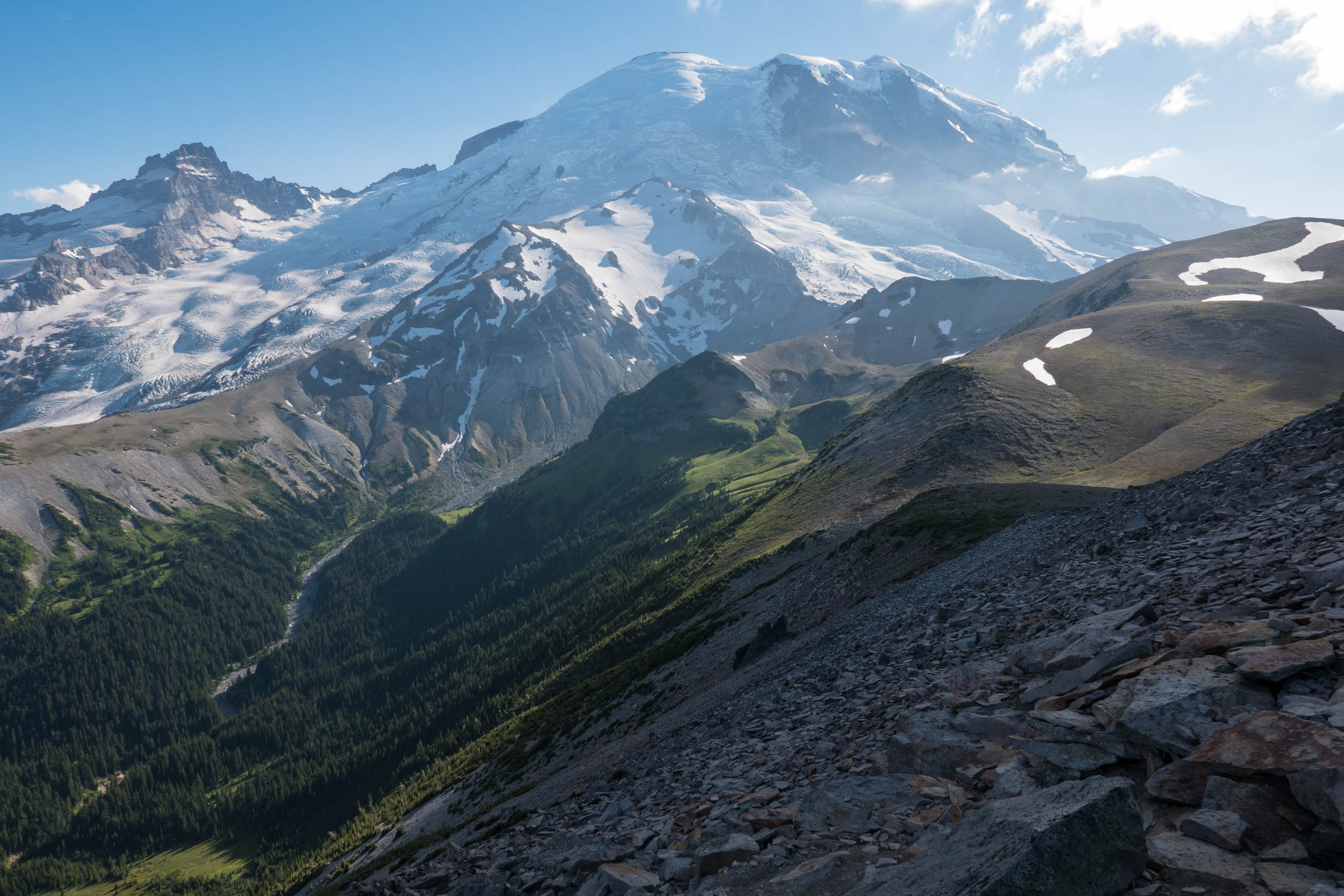 Rainier and the Inter Fork