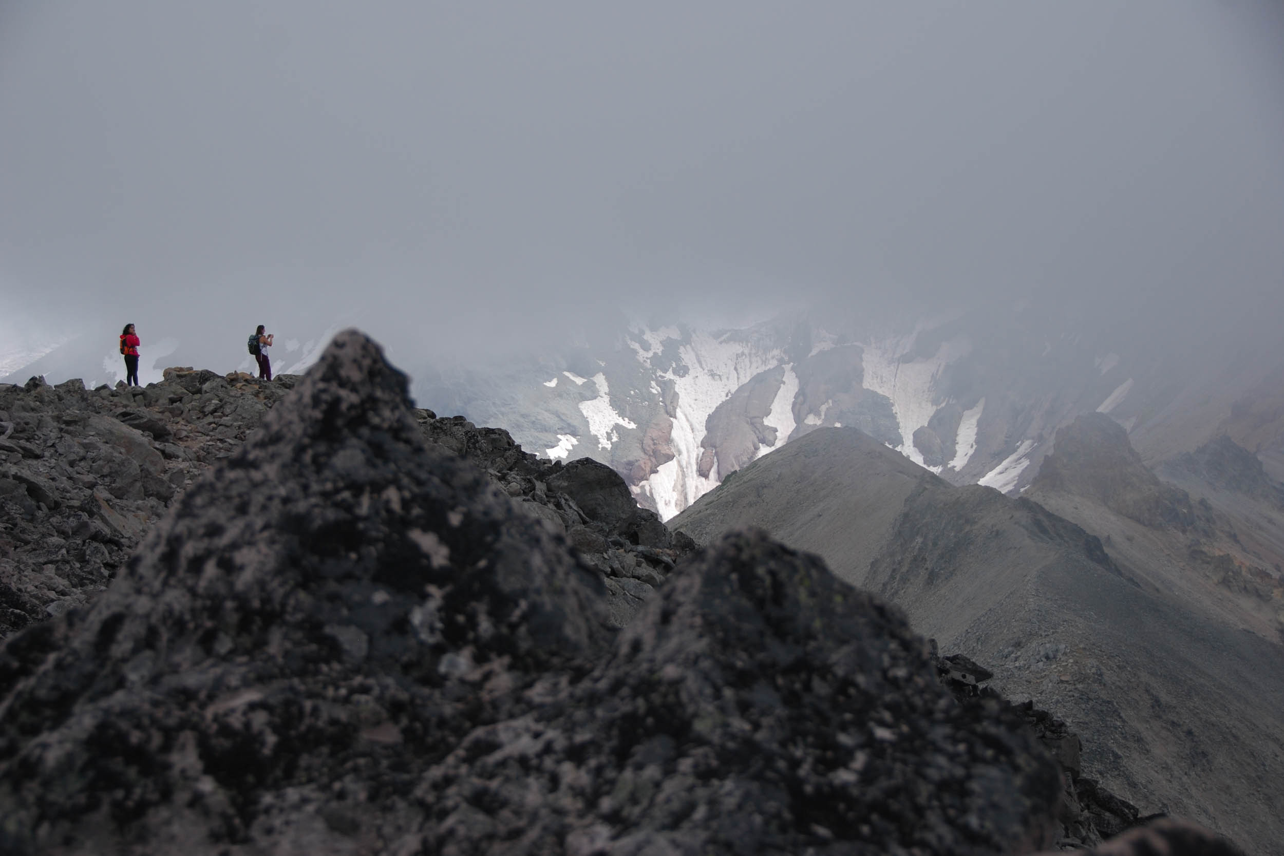 two hikers on Third