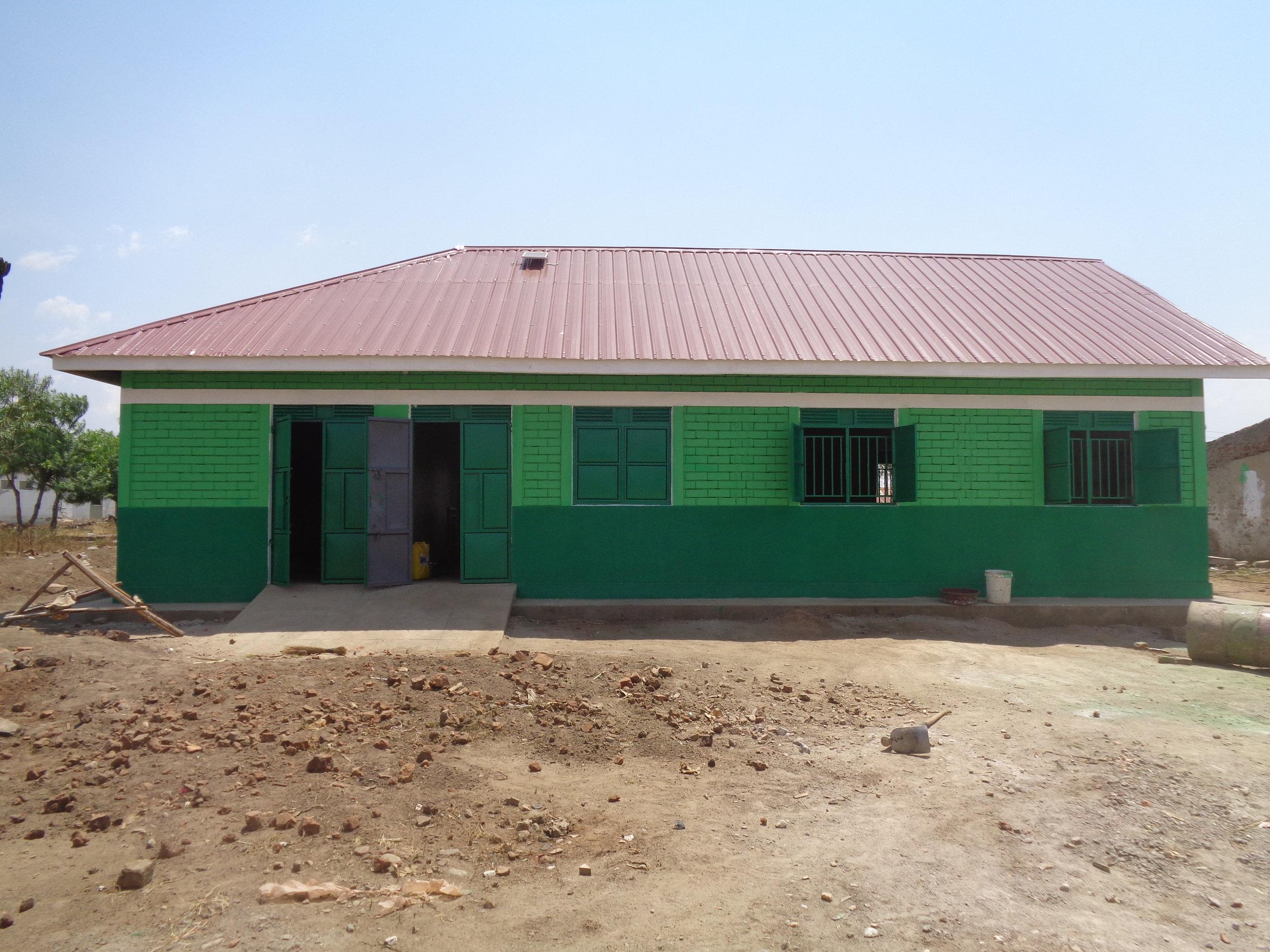 Newly Constructed Katunguru School Library