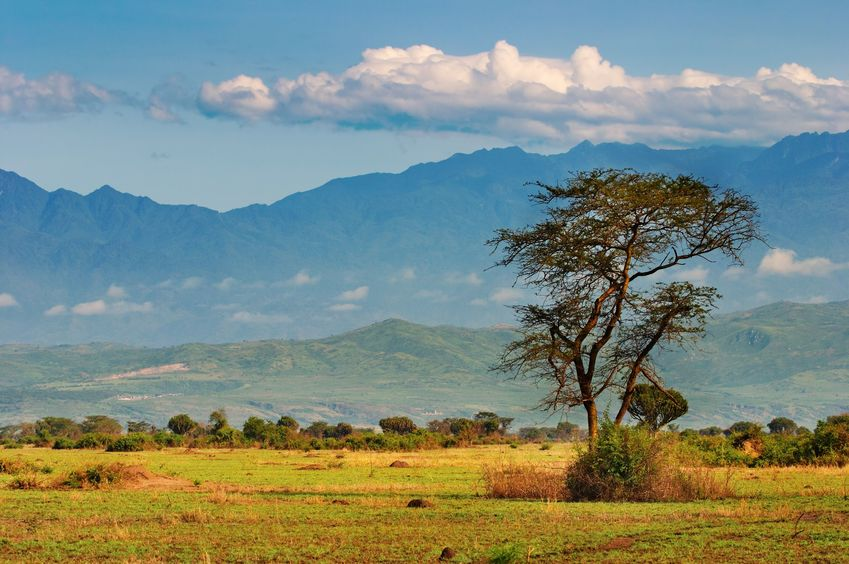 The Great Rift Valley in Queen Elizabeth National Park