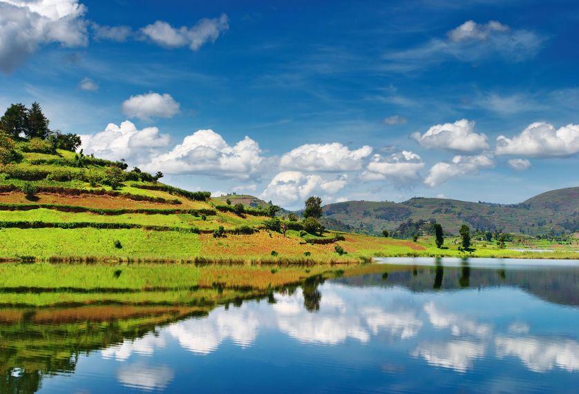 Lake Bunyoni of Southwestern Uganda