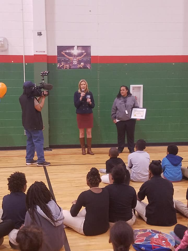 WCCO Excellent Educator! - MS. CHANDELL KNOX! We love you and appreciate your many contributions!