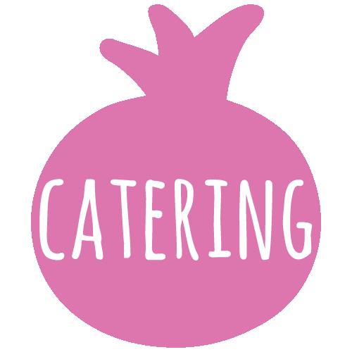 pomegranate catering menu