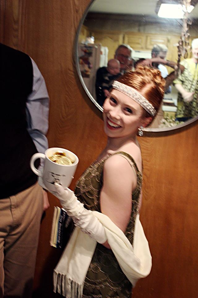 The Downton Cup - Awarded to Maddie McGuire ffor Best Costume
