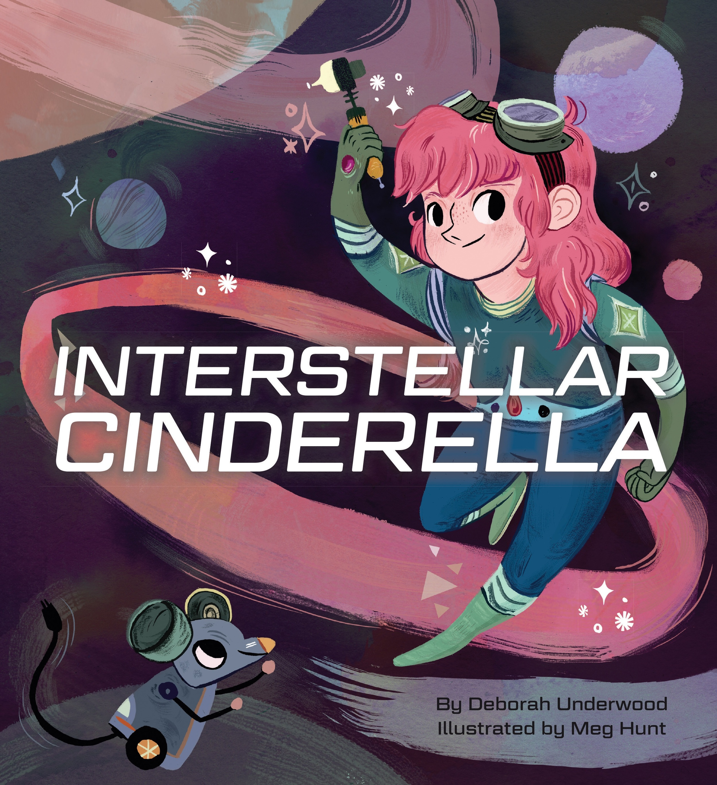 Interstellar Cinderella - Beautiful illustrations and charming rhyme with an amazing ending.