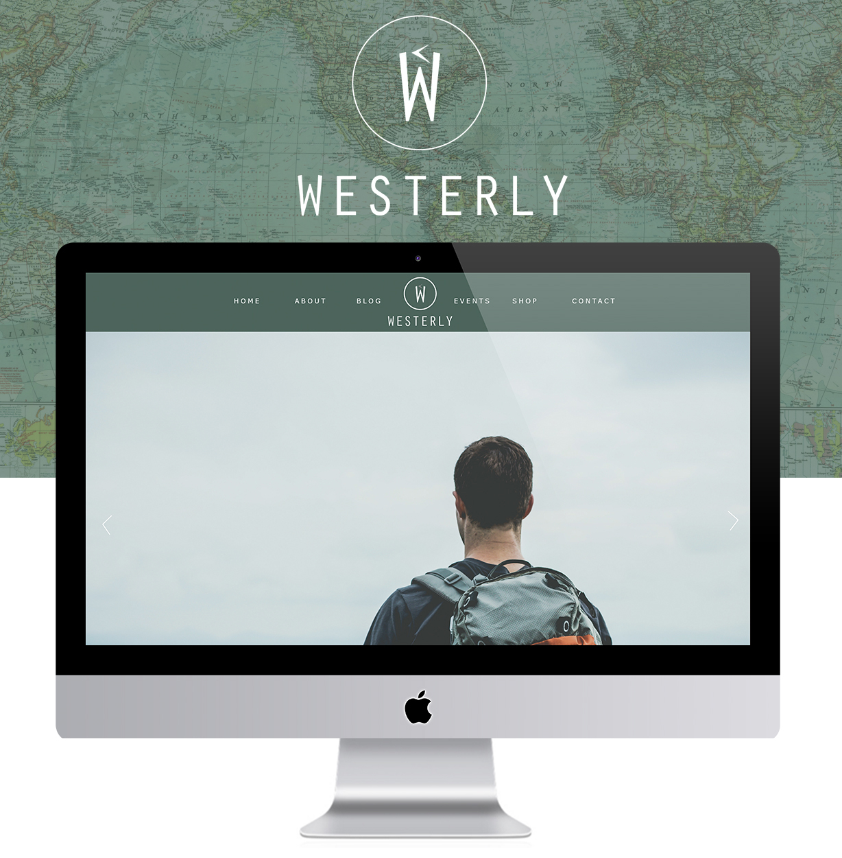Westerly - Clean Masculine Web Design