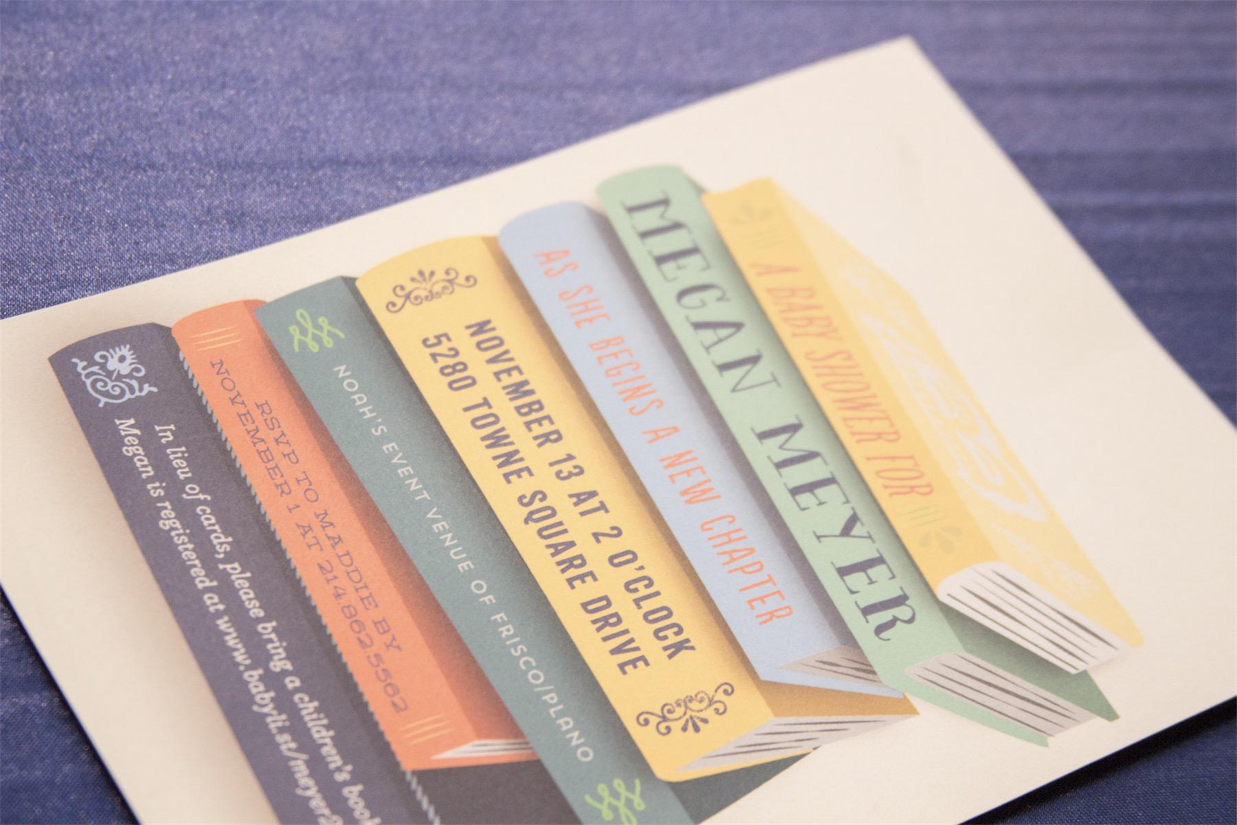 Megan Meyer's Picture Book Themed Baby Shower - November 2016