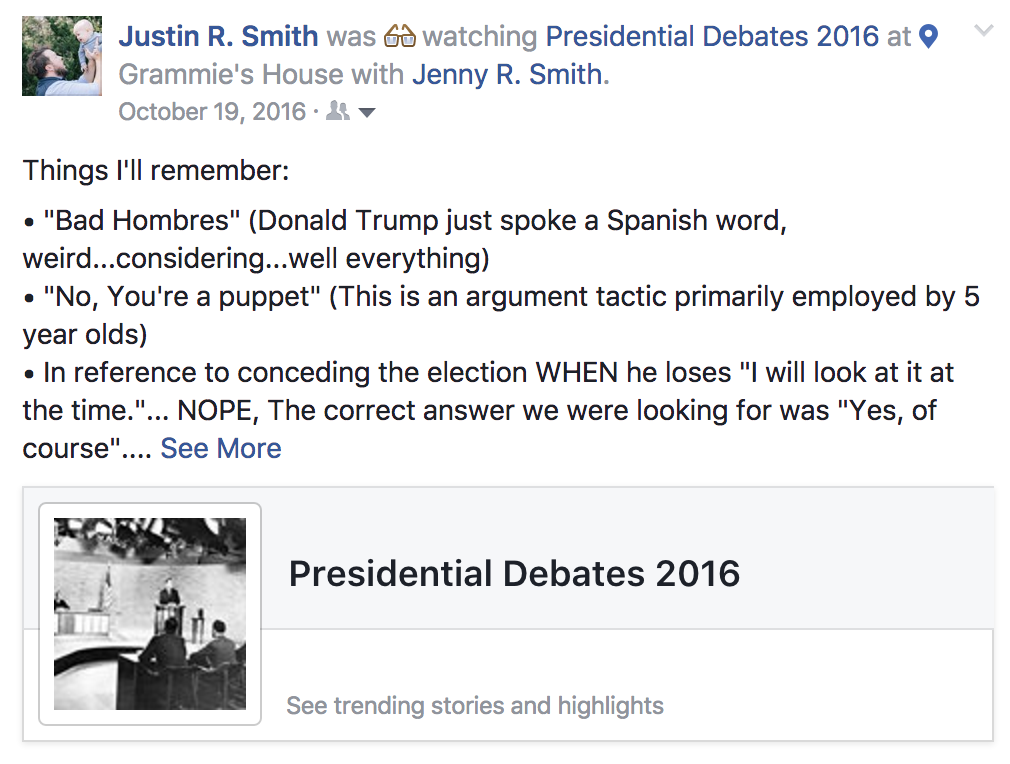 Presidential Election - 2016
