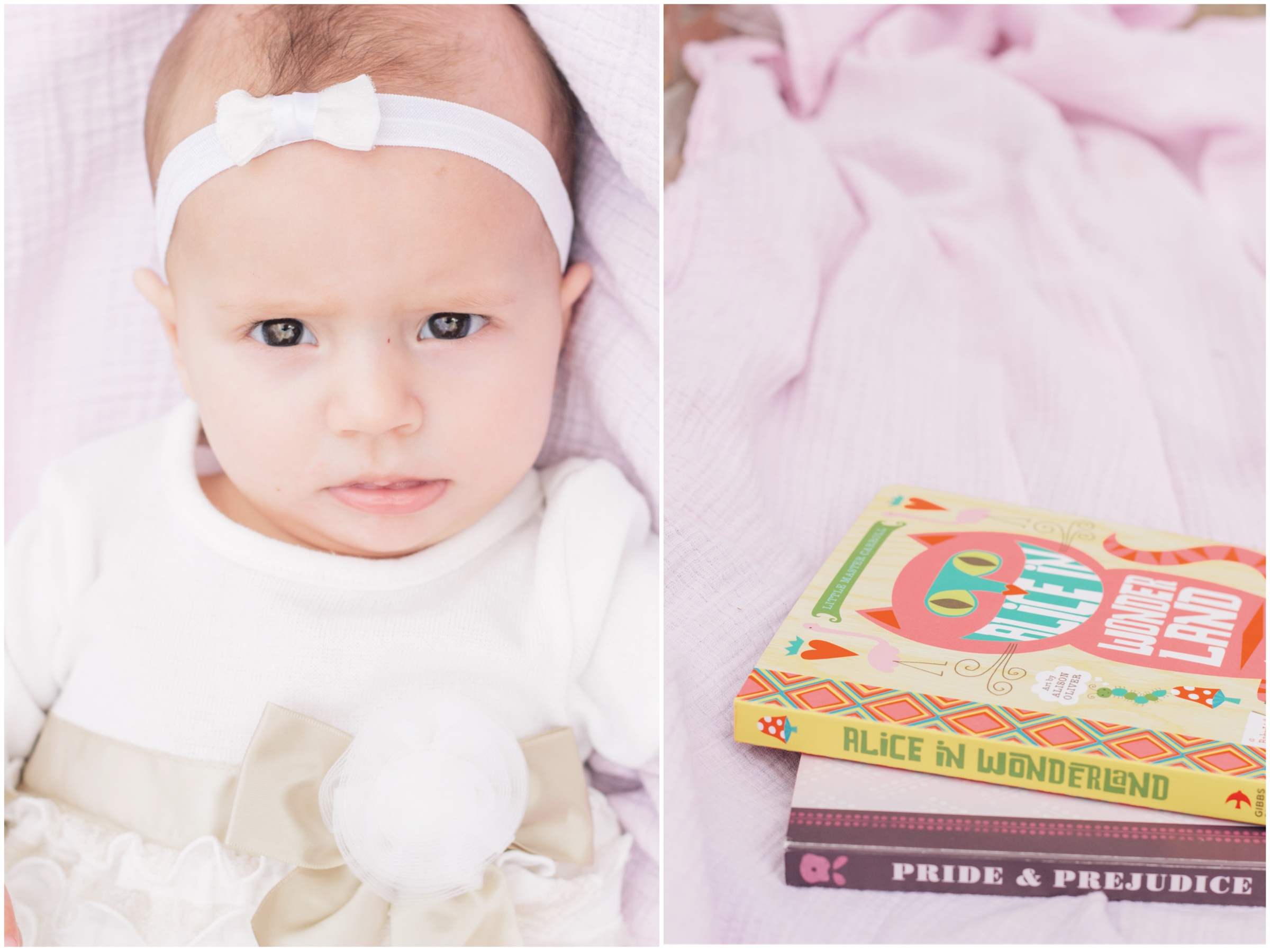 Beautiful Baby Photography - Month by Month - 5 months old