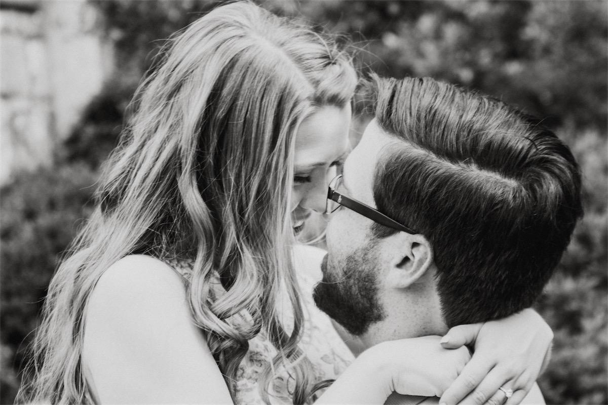 Engagement Photos at the Arboretum