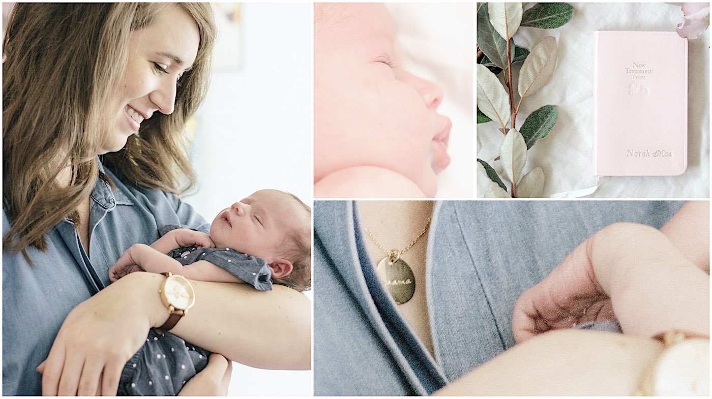 Norah Mae's Newborn Photography Session - Denton, Tx Family Photography
