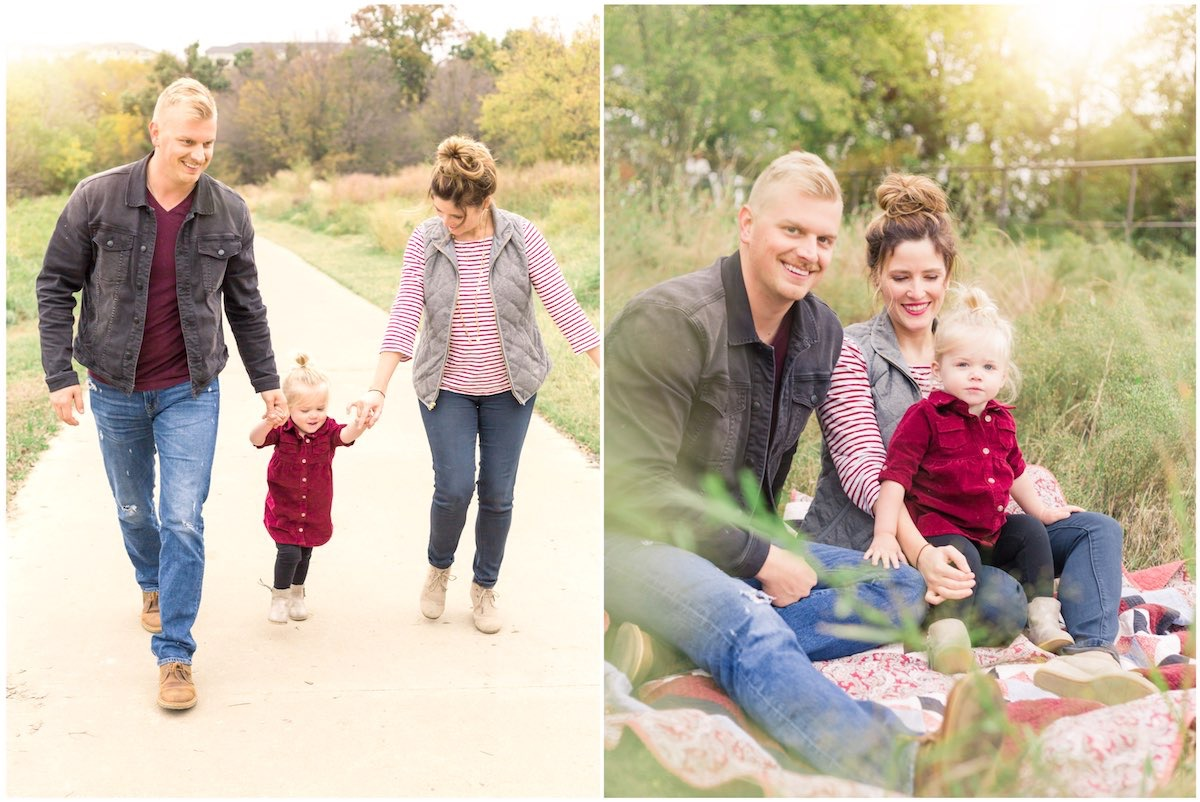 Nelson Family Session - Denton TX Family and Wedding Photographer