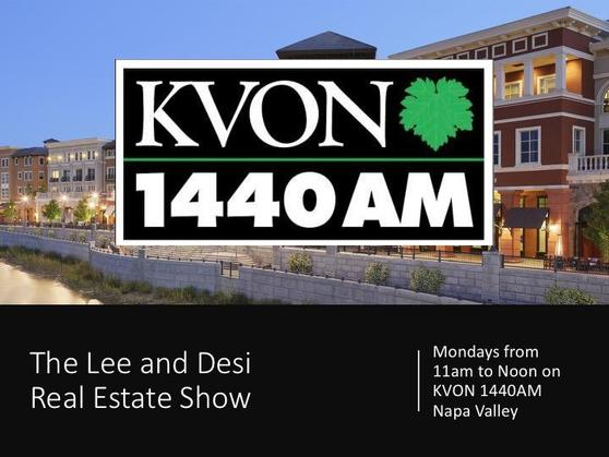 Listen to the Lee and Desi Real Estate Show - Stop Napa Oaks Debate - on KVON 1440AM
