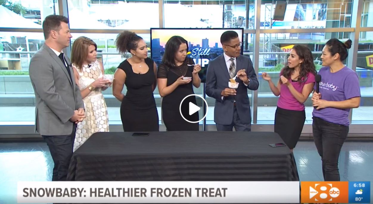 check out @snowbabyice on @wfaa #iamstillup Facebook live!