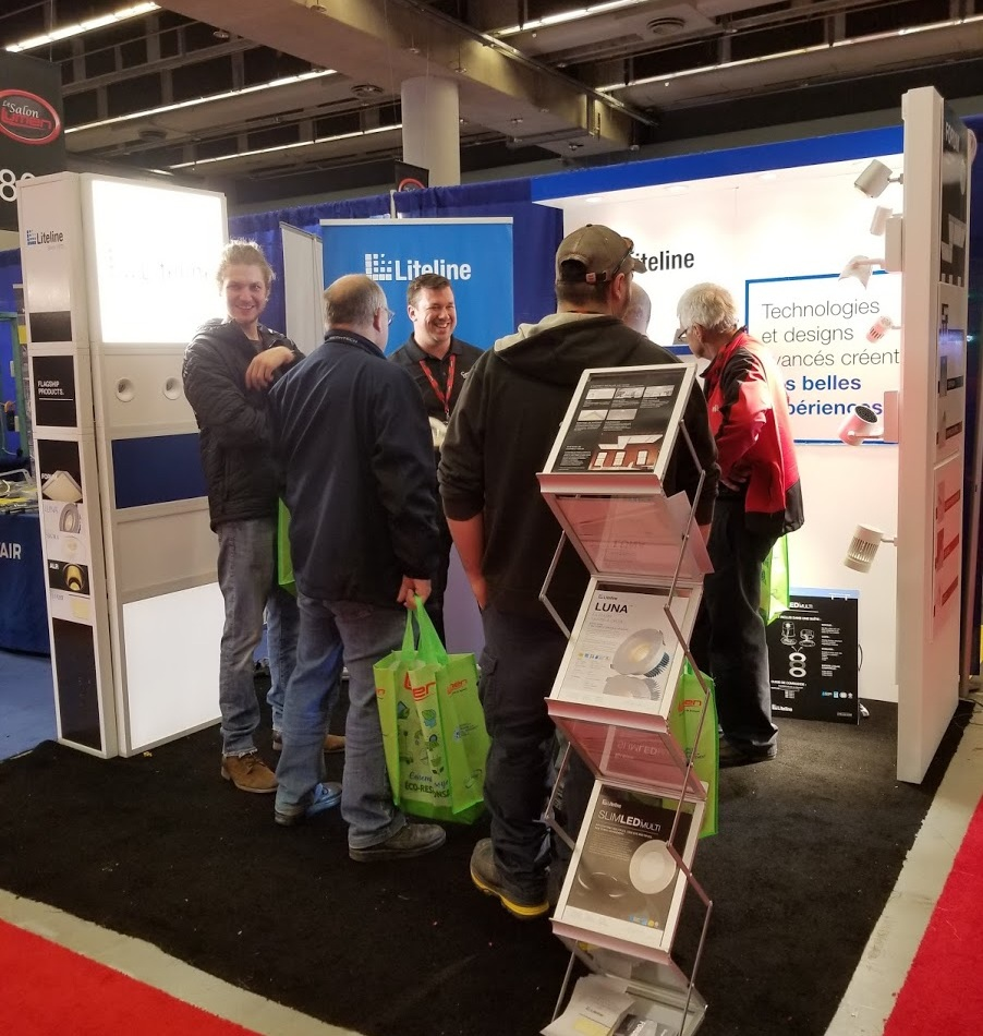 Liteline's Traveling Tradeshow Booth - 2018: One 10x10 booth. 9 Tradeshows. Challenge accepted.March 12-14: LEDucation in New York, USAApril 17: Salon LUMEN in Quebec City, CanadaApril 19: Salon LUMEN in Montreal, CanadaApril 25: IDEAL in Barrie, CanadaMay 2: MEET Tradeshow in Moncton, CanadaJune 2: CES in Dallas, USASeptember 6: Specifier Summit in Denver, USASeptember 25: Specifier Summit in Seattle, USAOctober 17-18: LightShow West in Vegas, USAMy team was responsible for everything including but not limited to the booth design, execution, logistics, and ensuring that the marketing materials required for each event was coordinated and available.