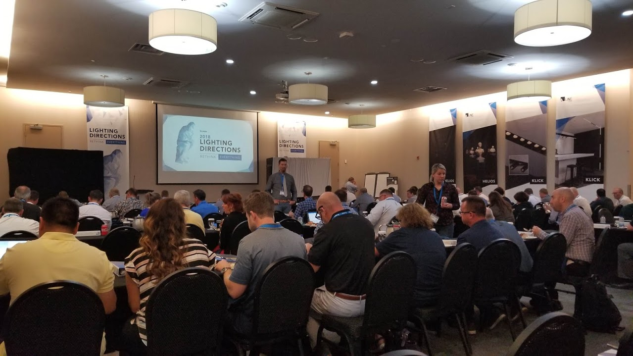 Liteline's Lighting Directions 2018 Sales Conference - September 16 - 18, 2018Biting off more than we can chew? Nonsense! Reach for the stars, plan for a good show, and execute a great one.