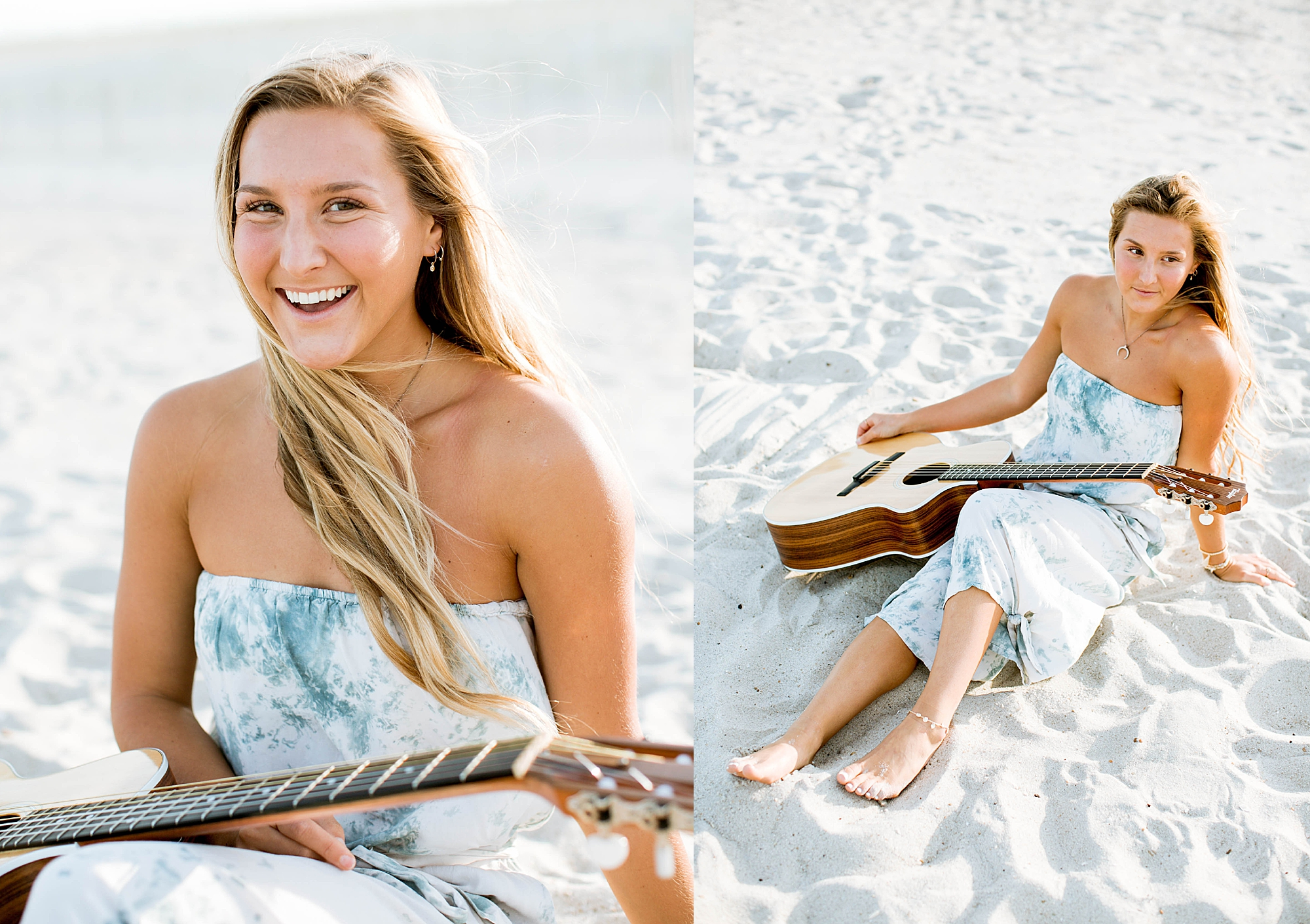 Natural and Bright Seaside Park New Jersey Boho Lifestlyle Beach Portrait Photography by Kelee Bovelle_0009.jpg