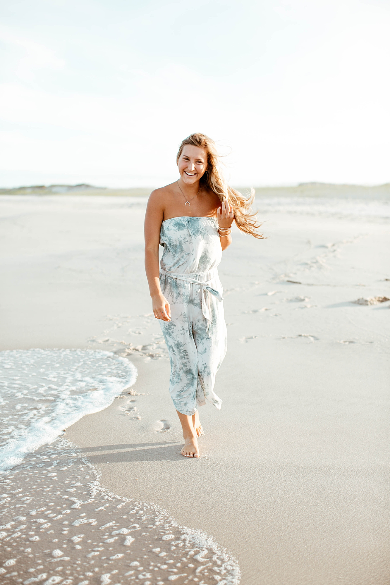 Natural and Bright Seaside Park New Jersey Boho Lifestlyle Beach Portrait Photography by Kelee Bovelle_0011.jpg