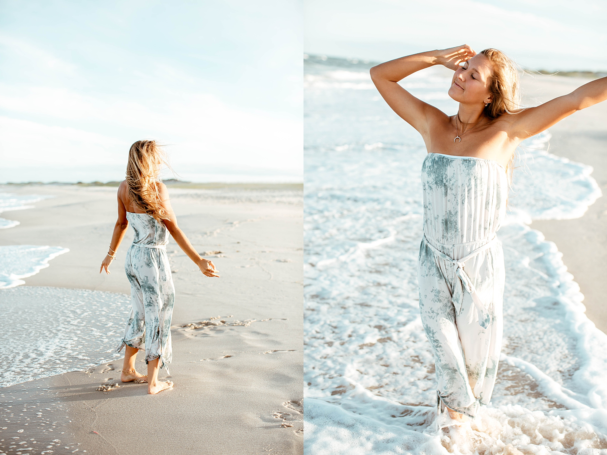 Natural and Bright Seaside Park New Jersey Boho Lifestlyle Beach Portrait Photography by Kelee Bovelle_0015.jpg