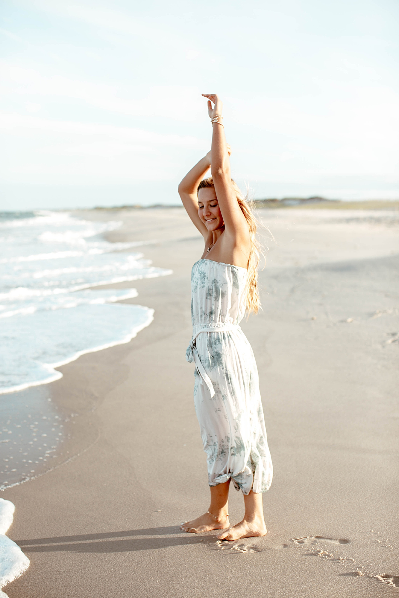 Natural and Bright Seaside Park New Jersey Boho Lifestlyle Beach Portrait Photography by Kelee Bovelle_0016.jpg