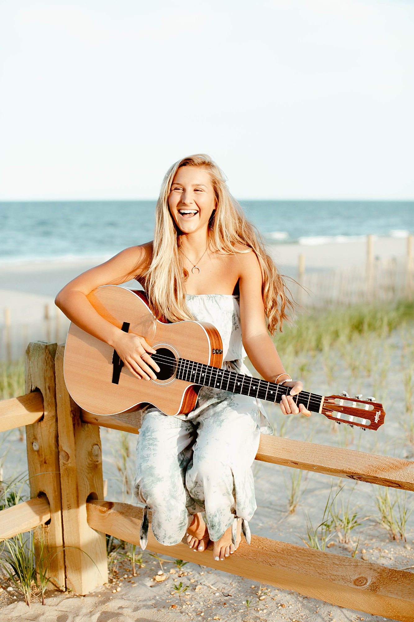Natural and Bright Seaside Park New Jersey Boho Lifestlyle Beach Portrait Photography by Kelee Bovelle_0019.jpg
