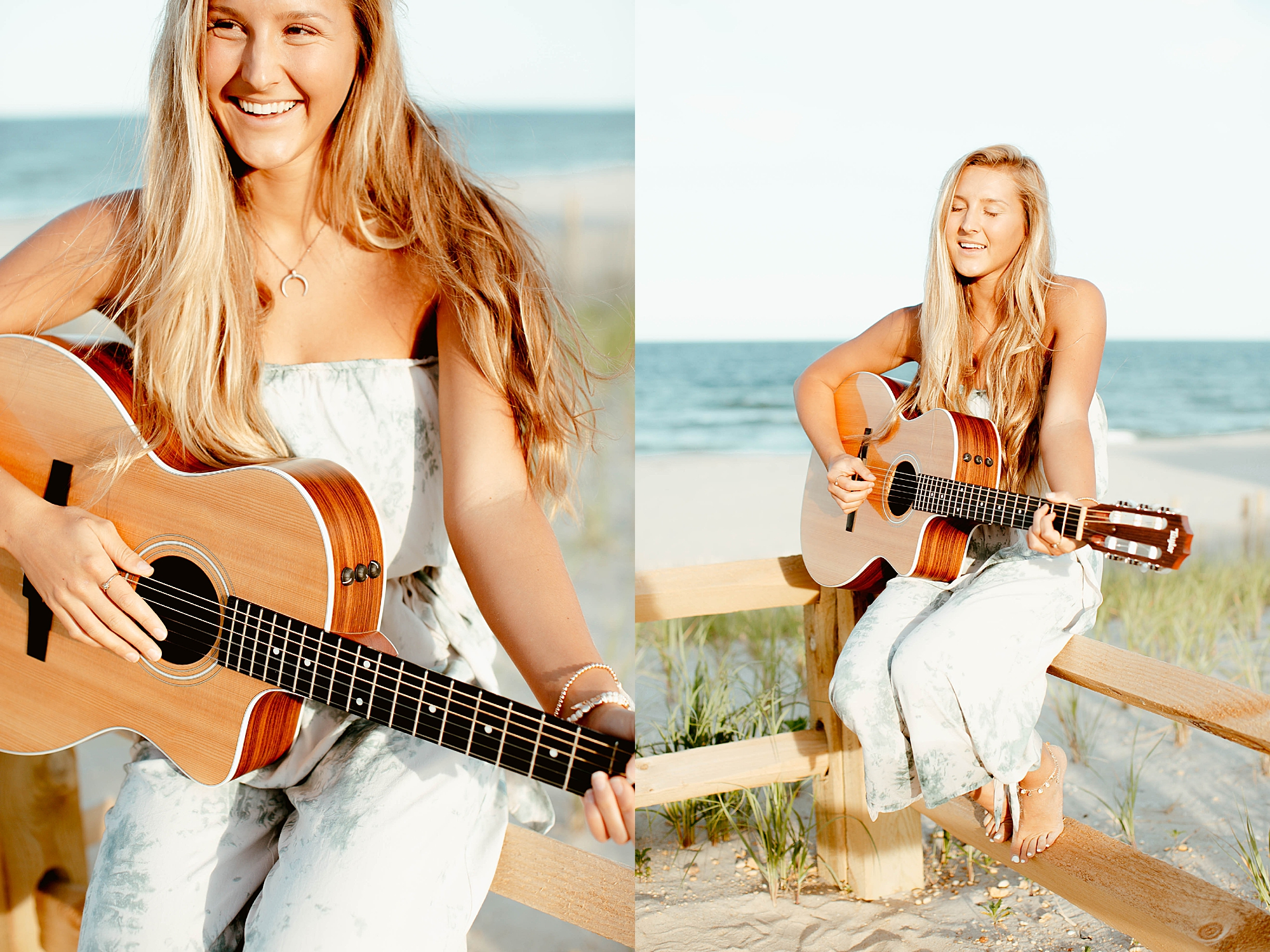Natural and Bright Seaside Park New Jersey Boho Lifestlyle Beach Portrait Photography by Kelee Bovelle_0020.jpg