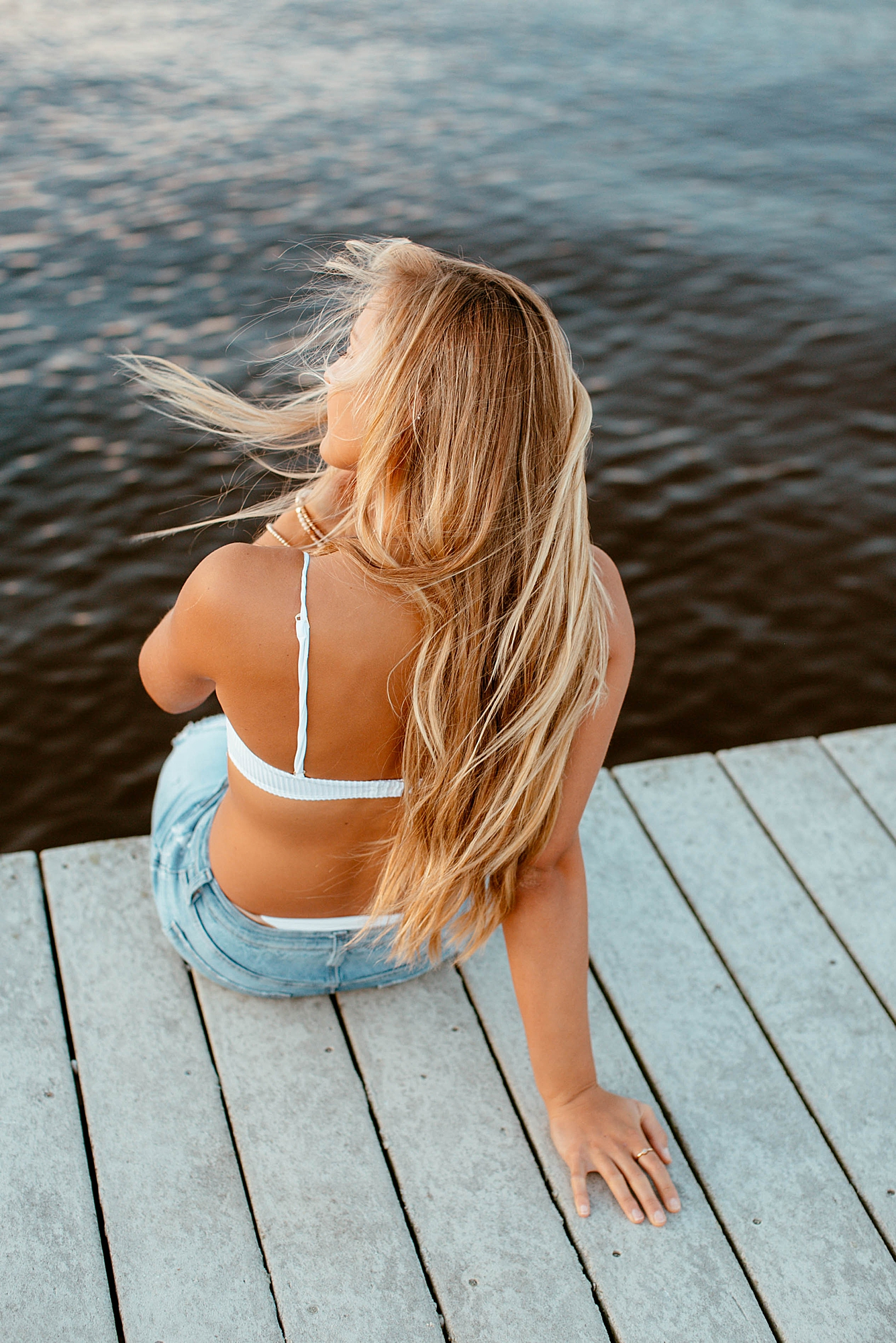 Natural and Bright Seaside Park New Jersey Boho Lifestlyle Beach Portrait Photography by Kelee Bovelle_0036.jpg