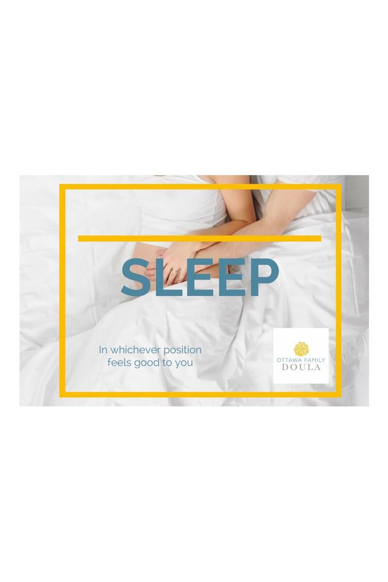 Sleep when pregnant