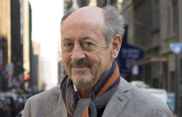 Billy Collins; photo credit Bill Hayes