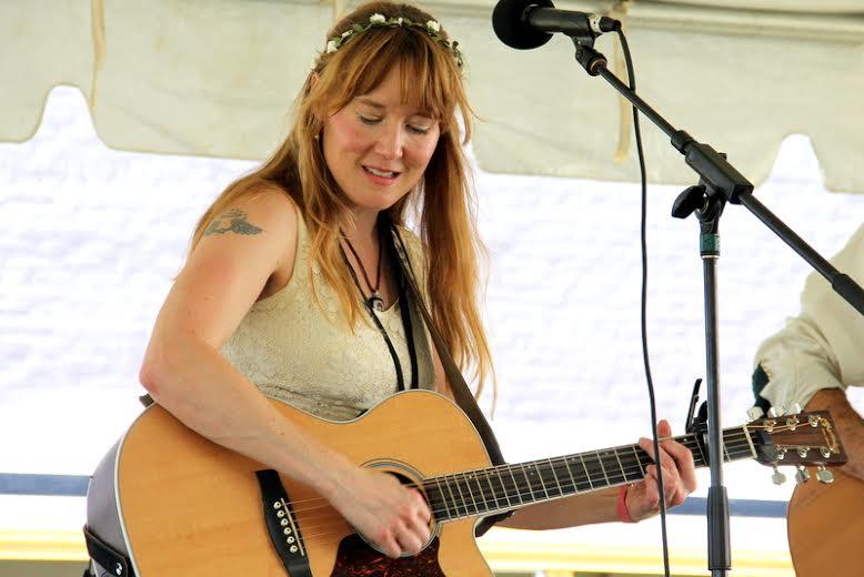 Angela Easterling at Kerrville Folk Festival 2018