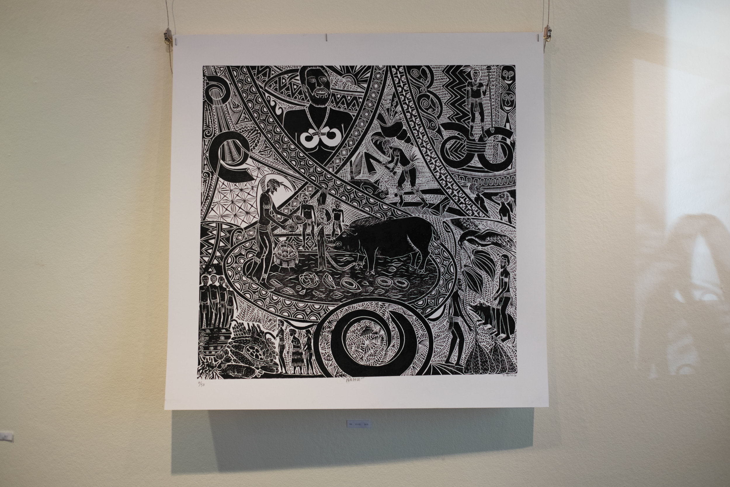 black wall art boar.jpg