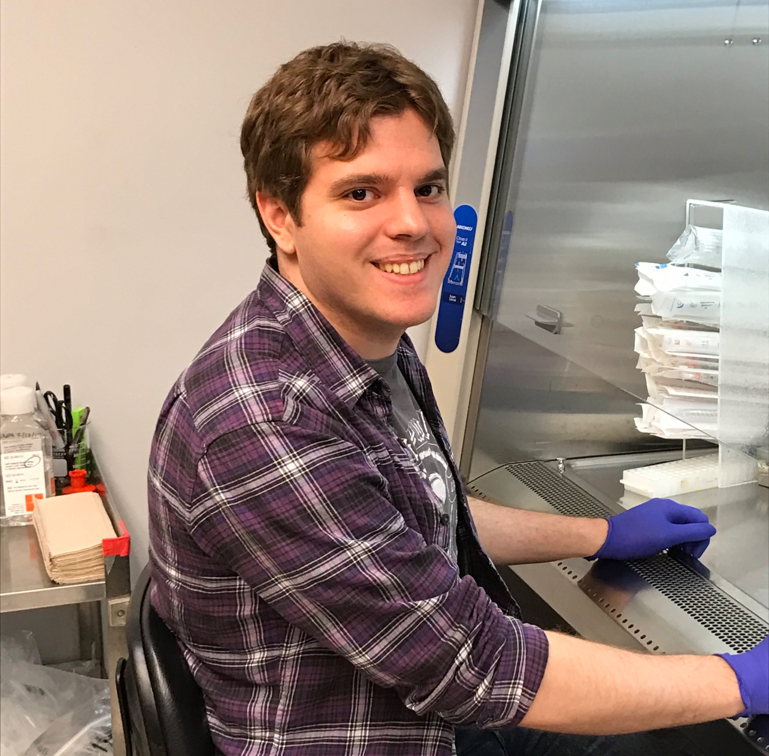 Nate Jacobs - PHD STUDENTNate is in the Population Biology, Ecology and Evolution graduate program and is working to understand the implications of incomplete viral genomes for influenza virus evolution.