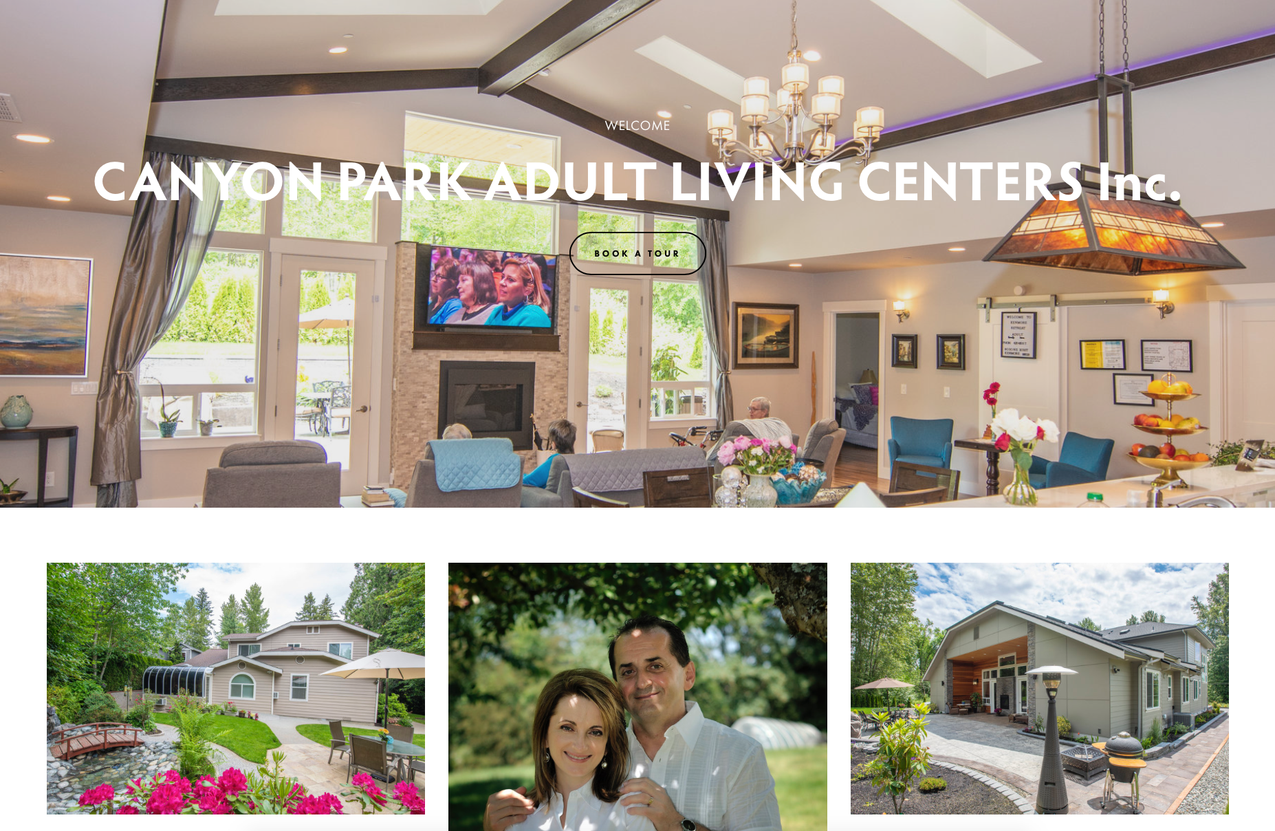 Canyon Park Centers - Adult Family Centers in Bothell, WA and Kenmore, WA