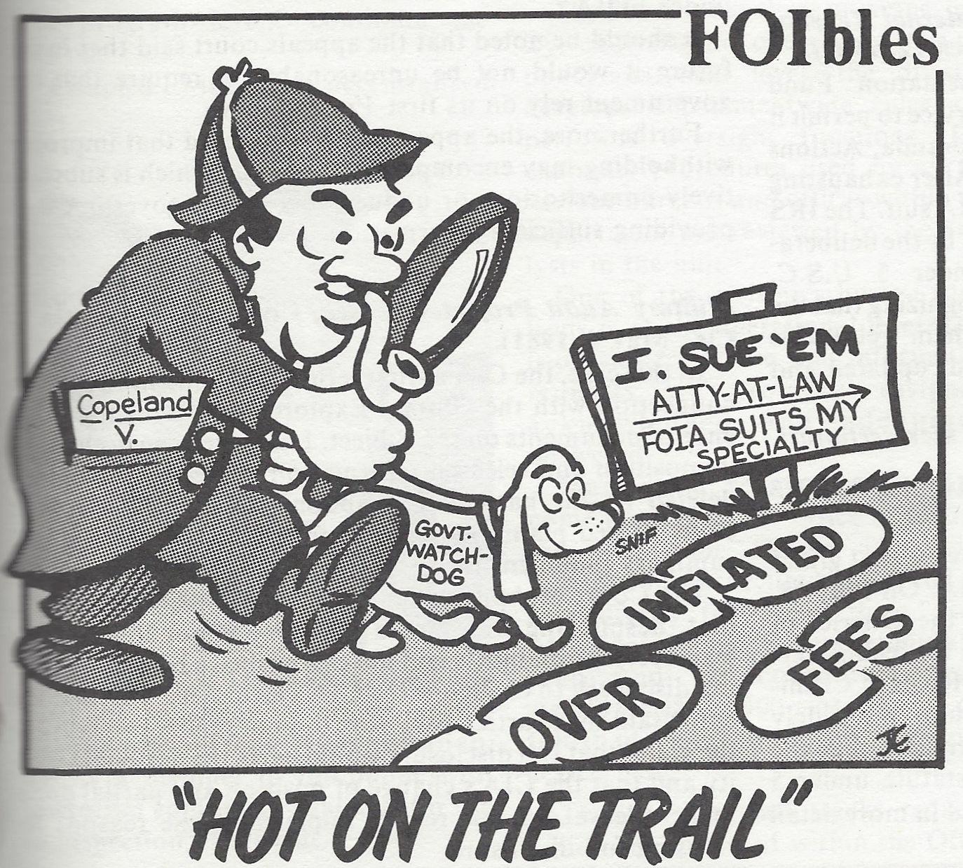 Vol II, No 3, June 1981. Artist: JE [presumably Jon Enten]