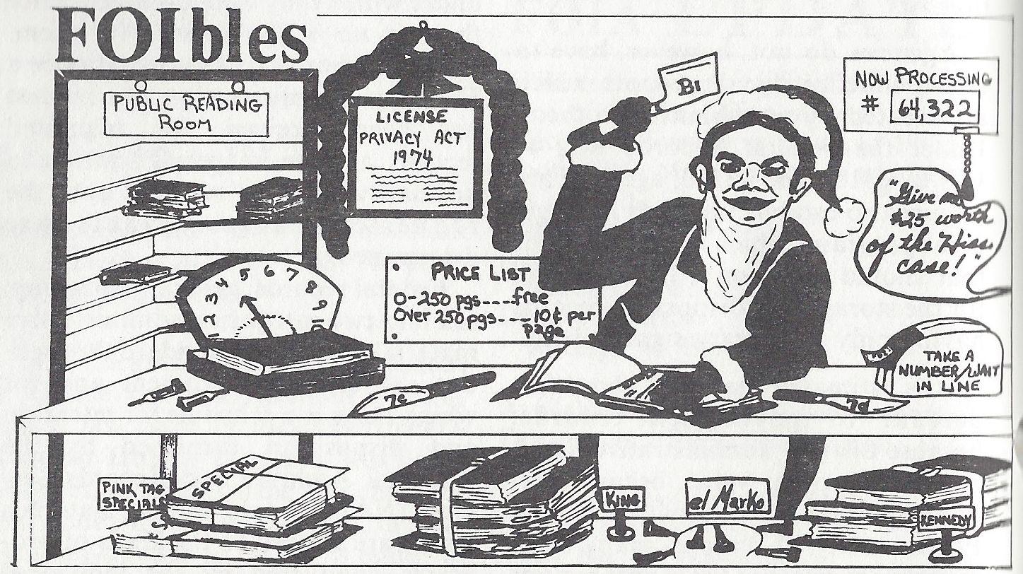 Vol III, No 1, December 1981. Unsigned