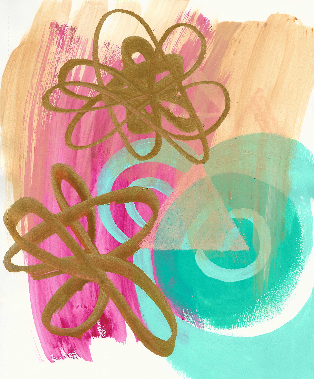 gold loops and turquise bullseye 11x14 paper.jpg
