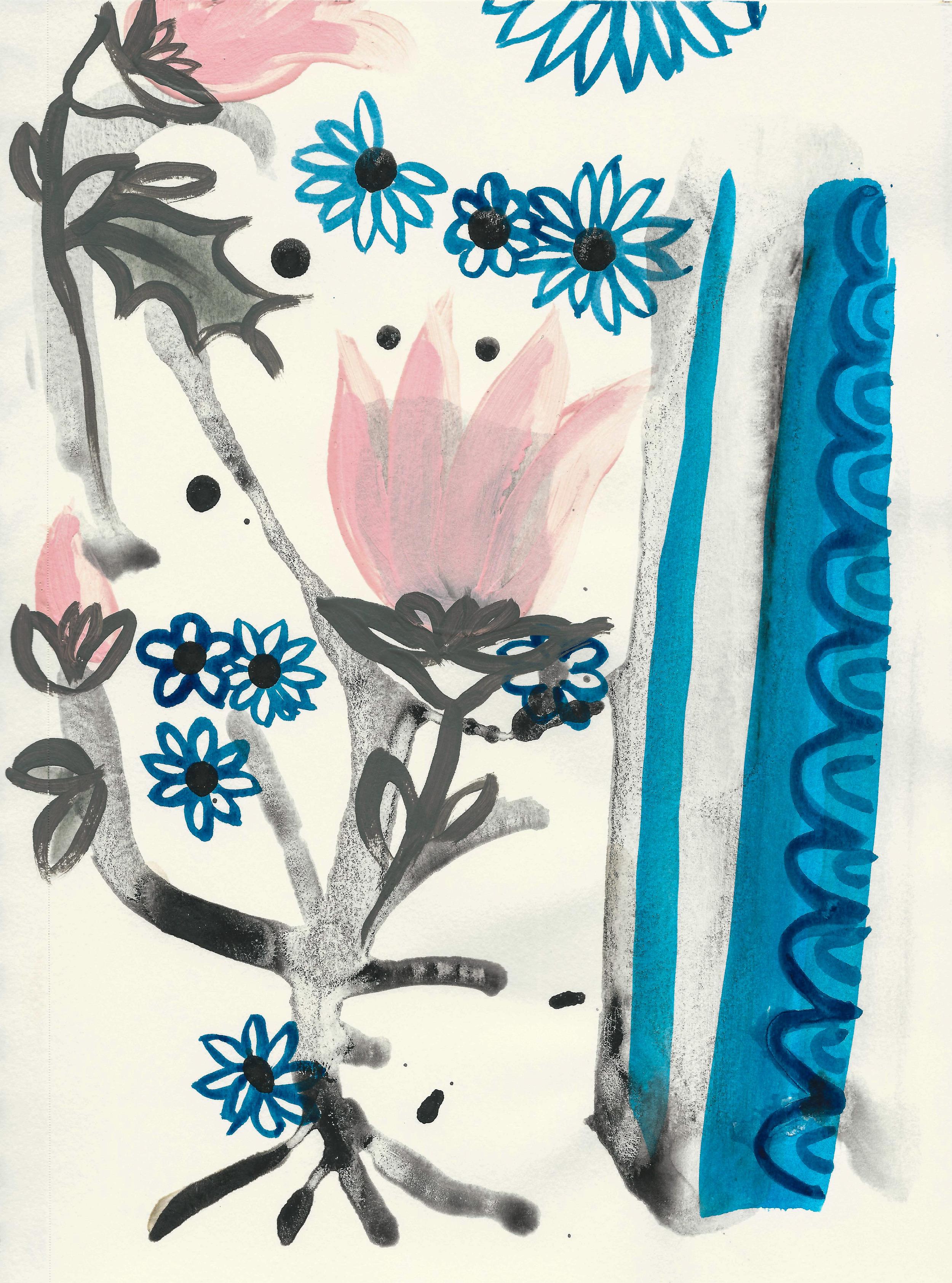 tribal tulips 7x10 paper.jpg