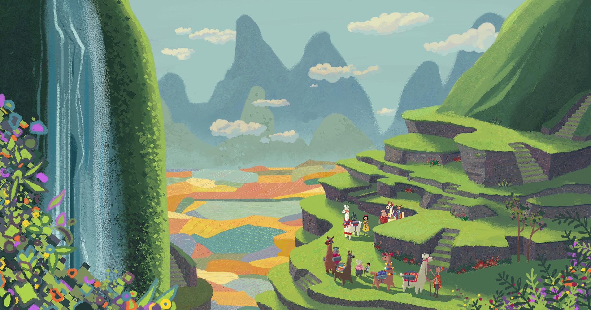 Project: Traveling with Uncle Boris Machu Picchu, Cusco, Peru
