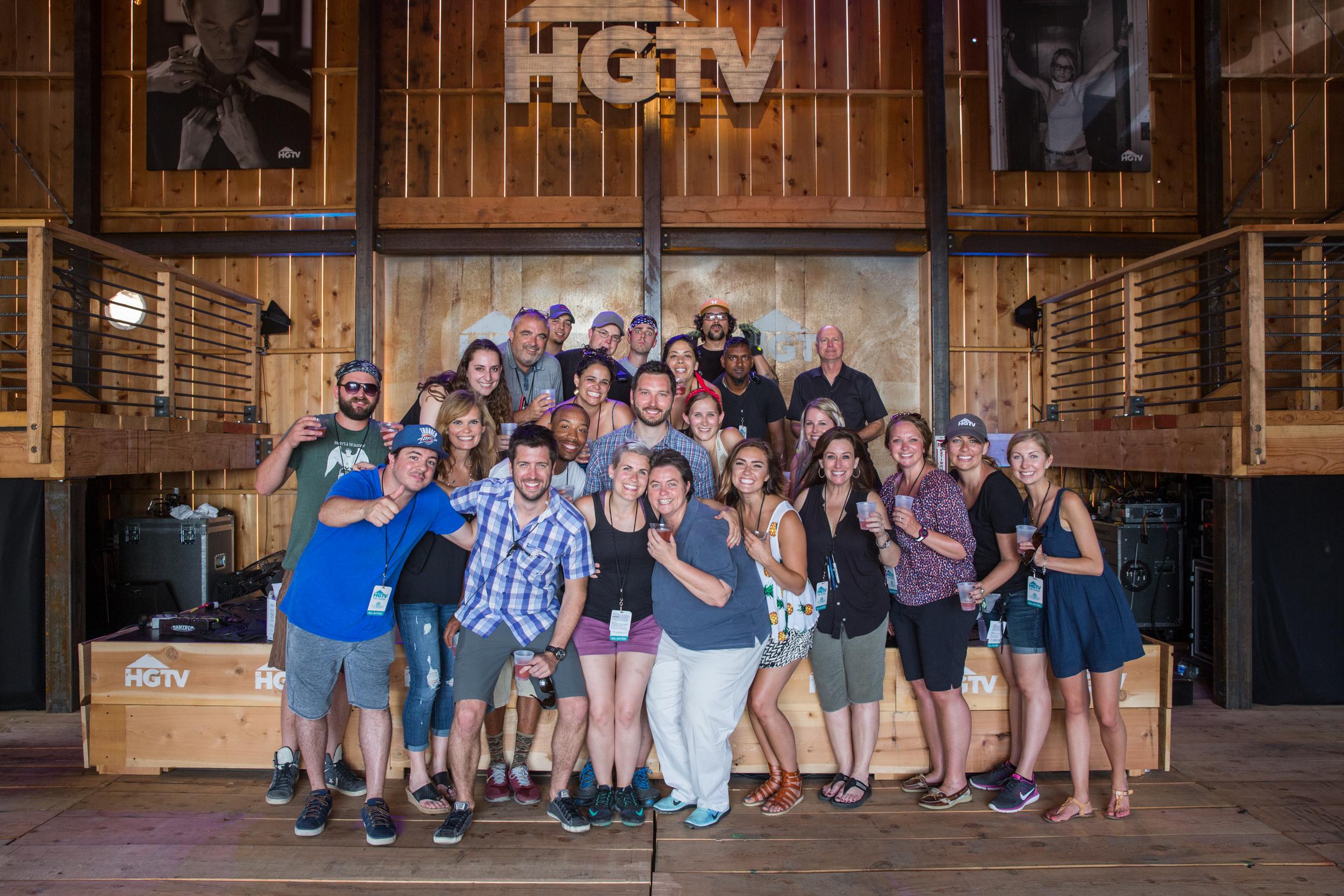 HGTV Lodge Crew