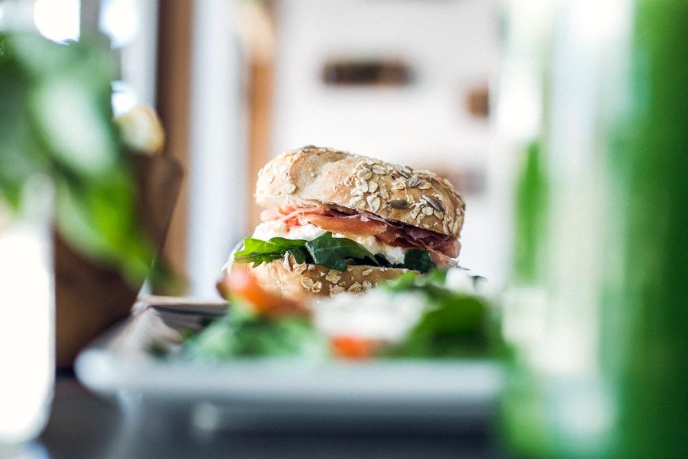crudo & stracciatella sandwich
